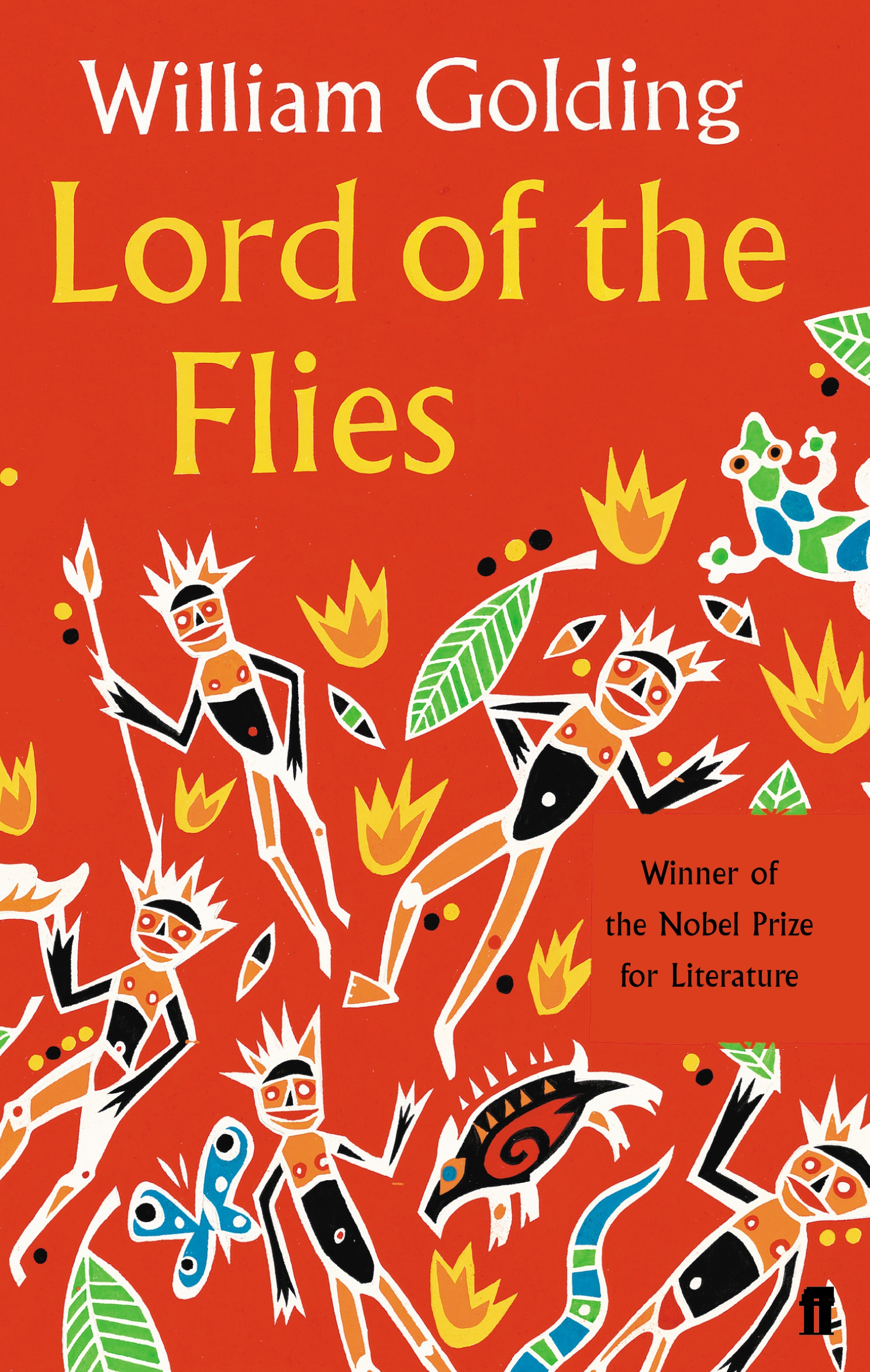 lord of the flies william golding 9780571191475 allen cover