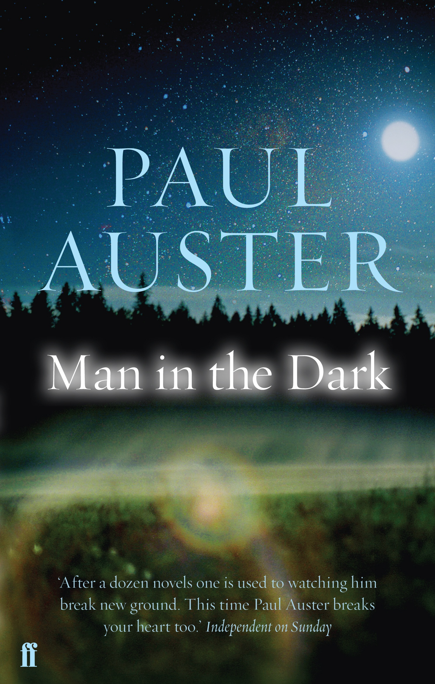 Man In The Dark Paul Auster 9780571240777 Allen border=