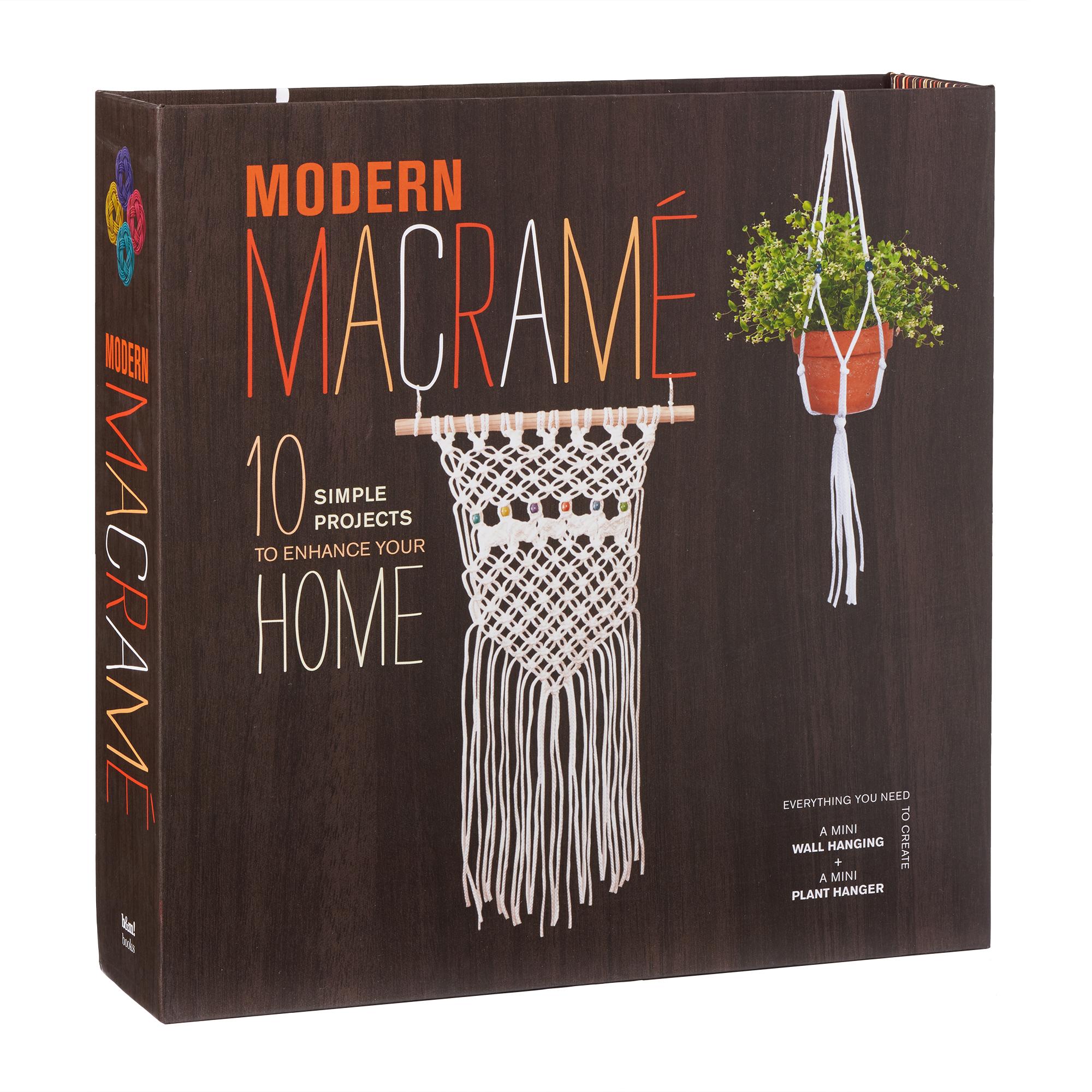 Modern Macrame Justine Vasquez 9780760355022 Murdoch