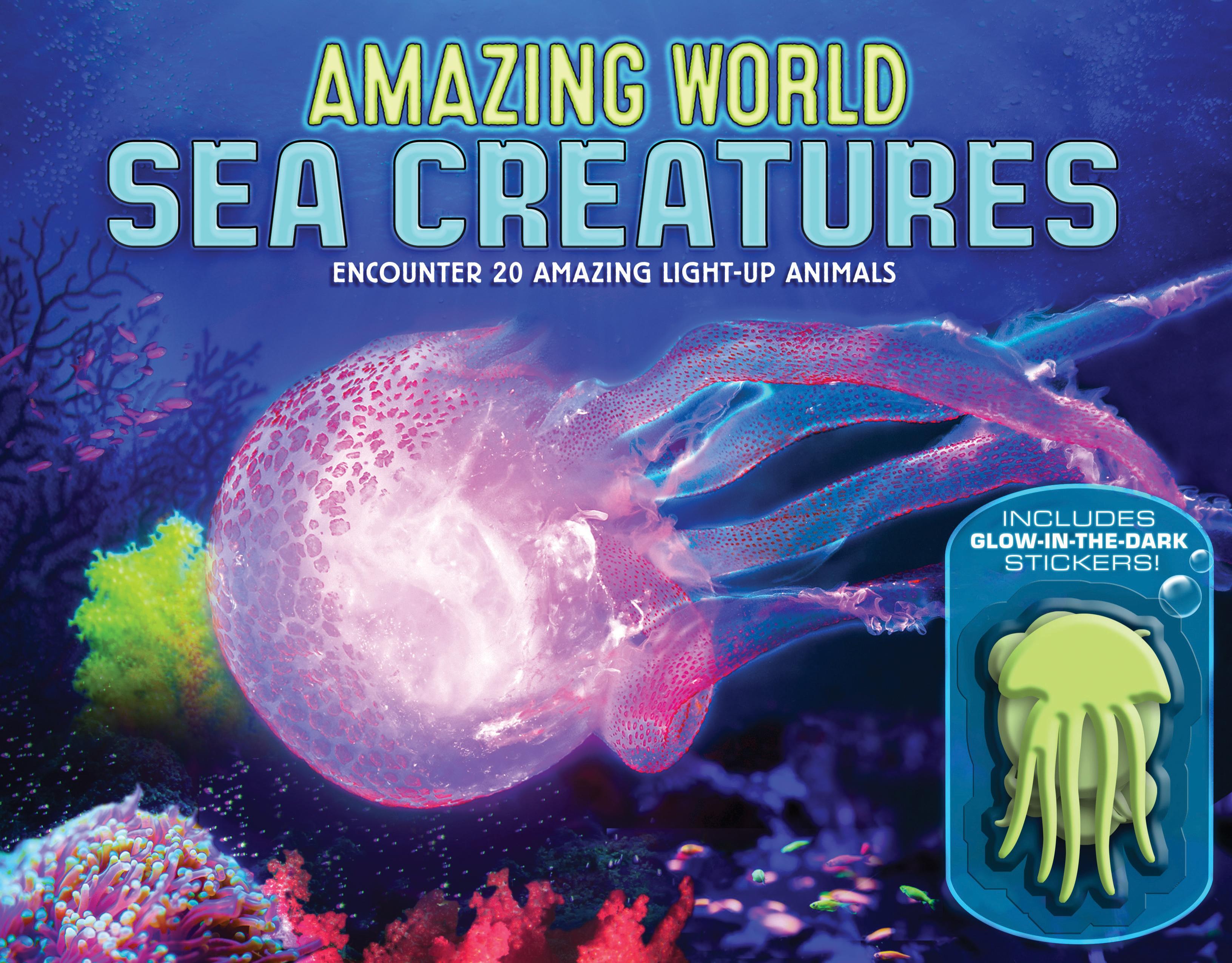 Sea Creatures (Amazing World) - Lee Martin - 9780760355367