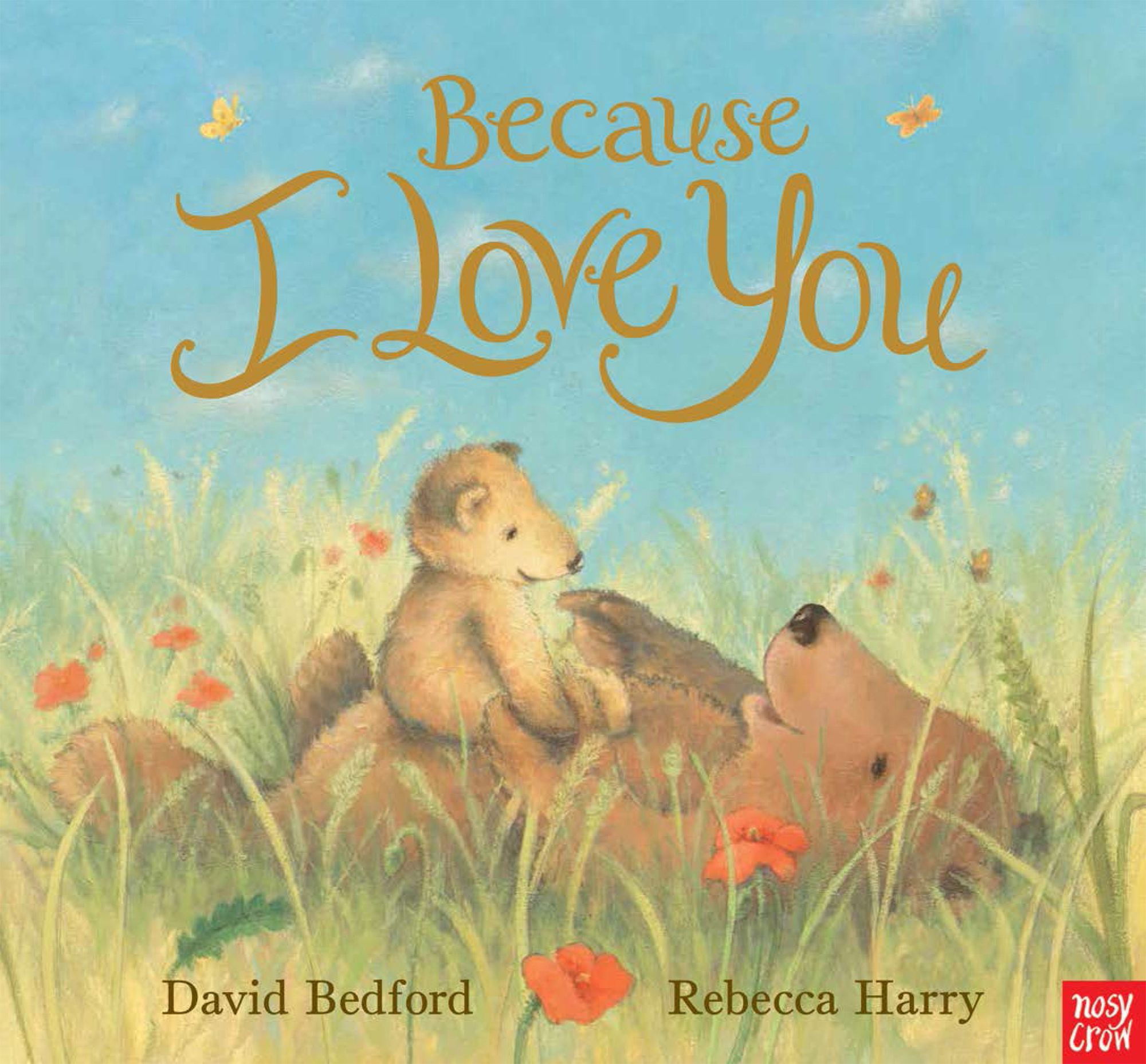 Illustrated Book Cover Archive : Because i love you rebecca harry illustrated by david