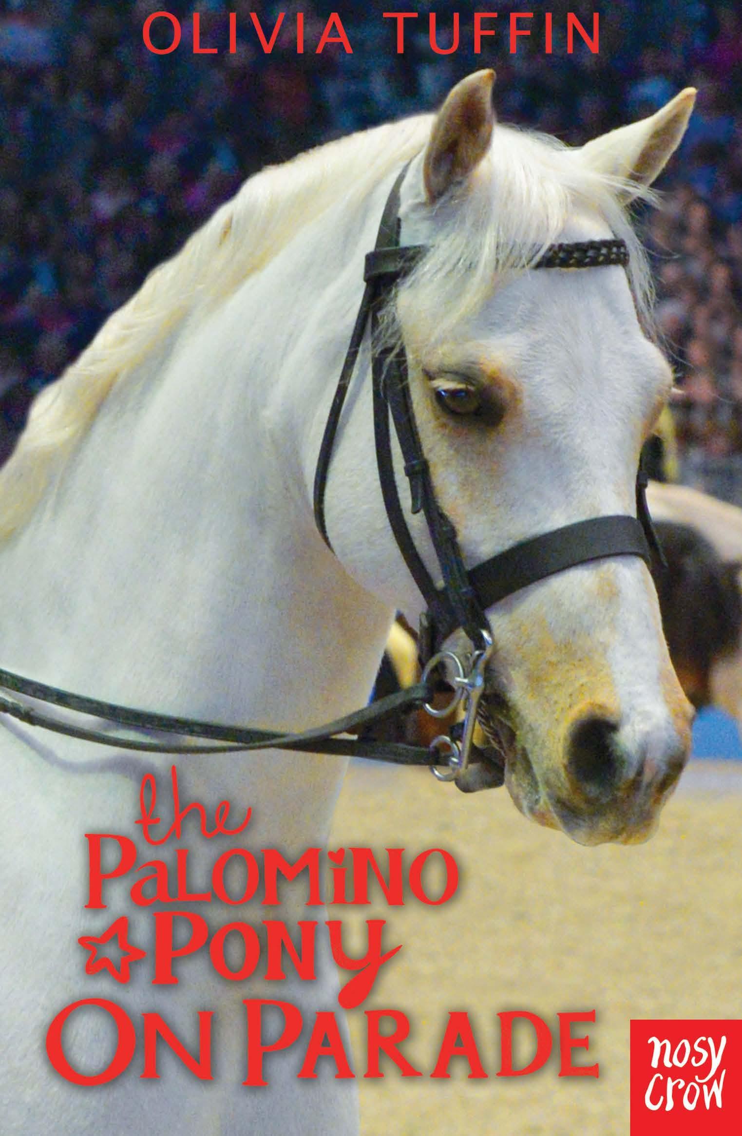 palomino pony on parade - olivia tuffin