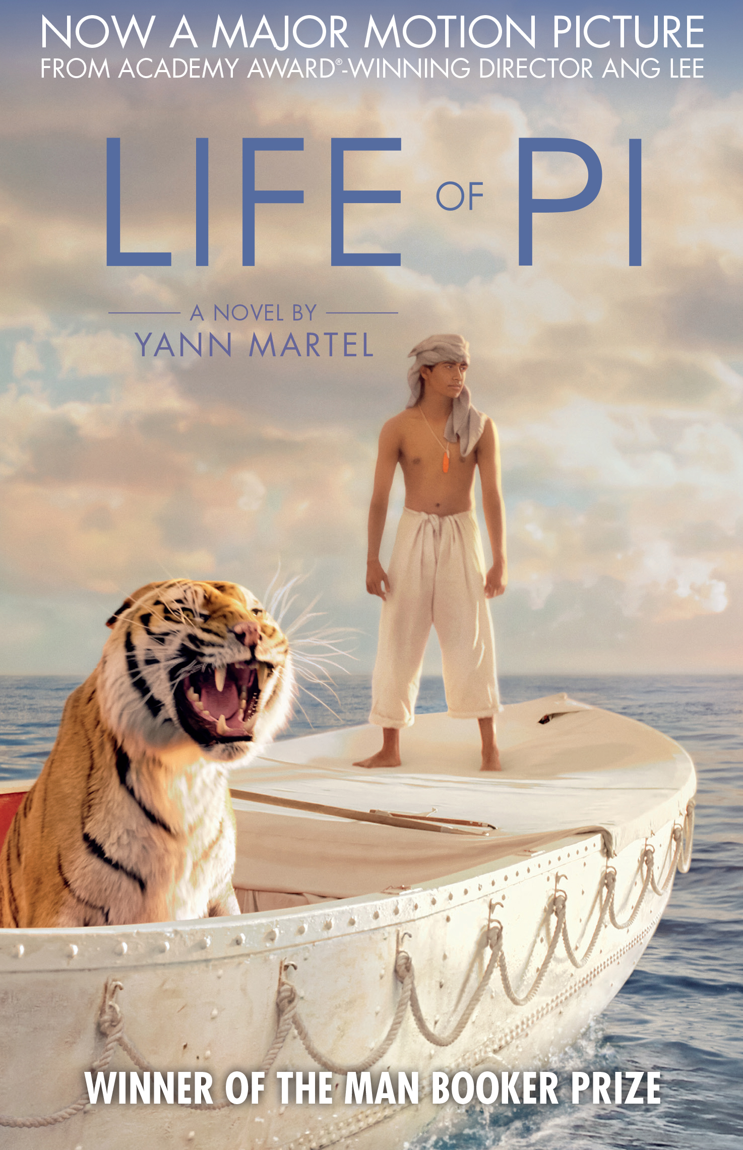 Life of pi film tie in yann martel 9780857865533 for Life of pi cast