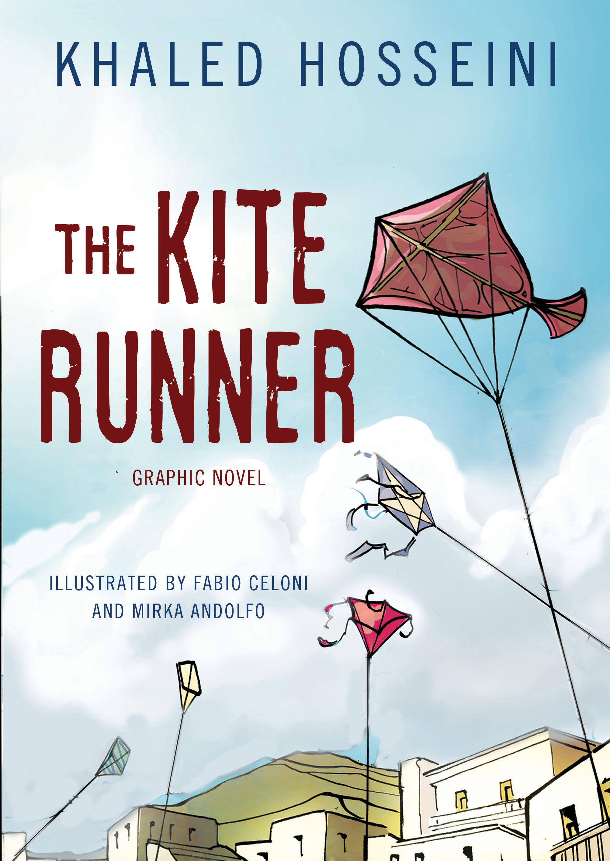 the kite runner graphic novel khaled hosseini fabio celoni cover
