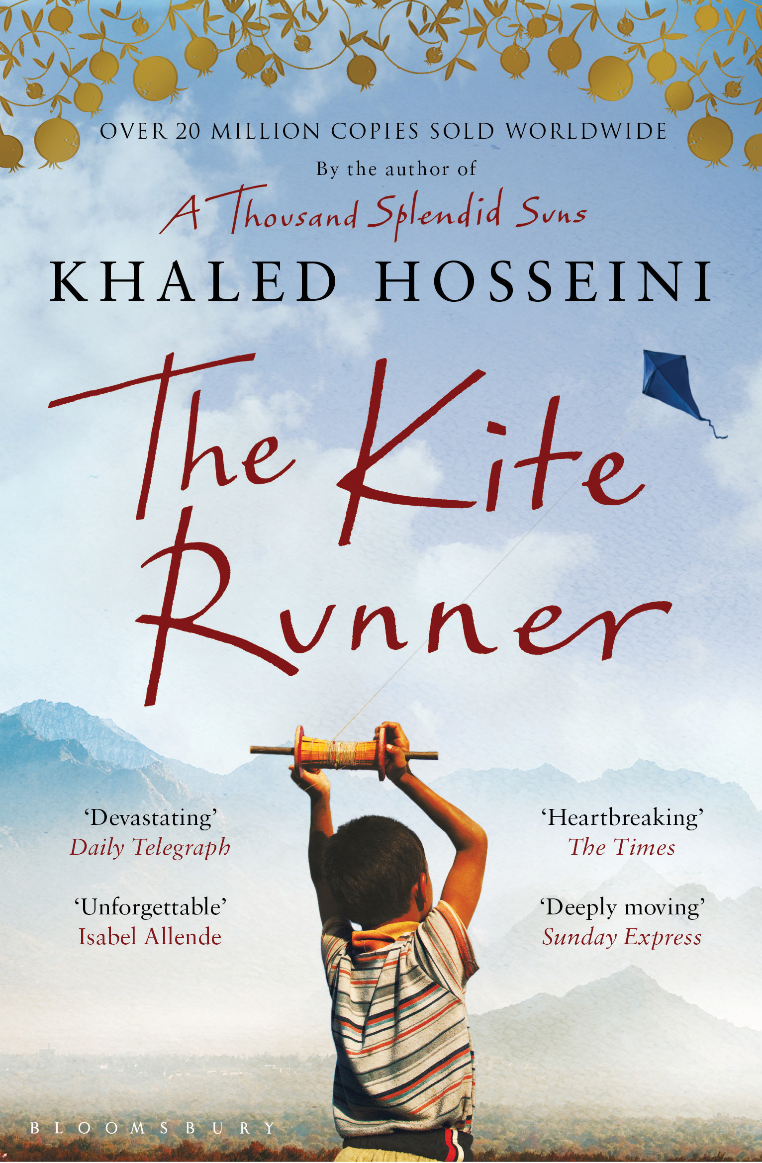 the kite runner khaled hosseini 9781408824856 allen unwin cover