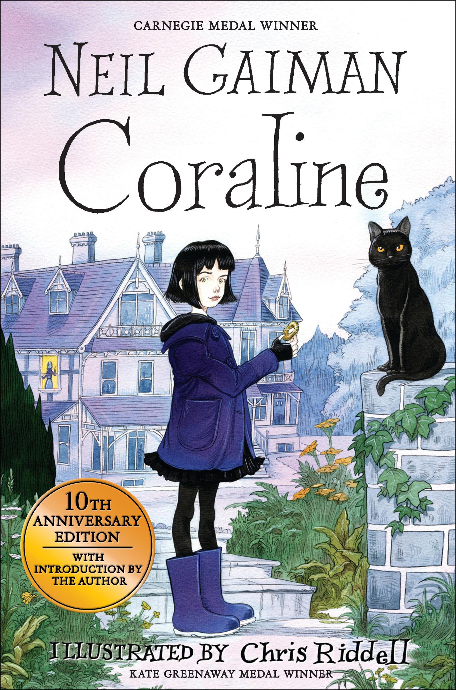 Coraline 10th Anniversary Edition Neil Gaiman 9781408832400 Allen Unwin Australia
