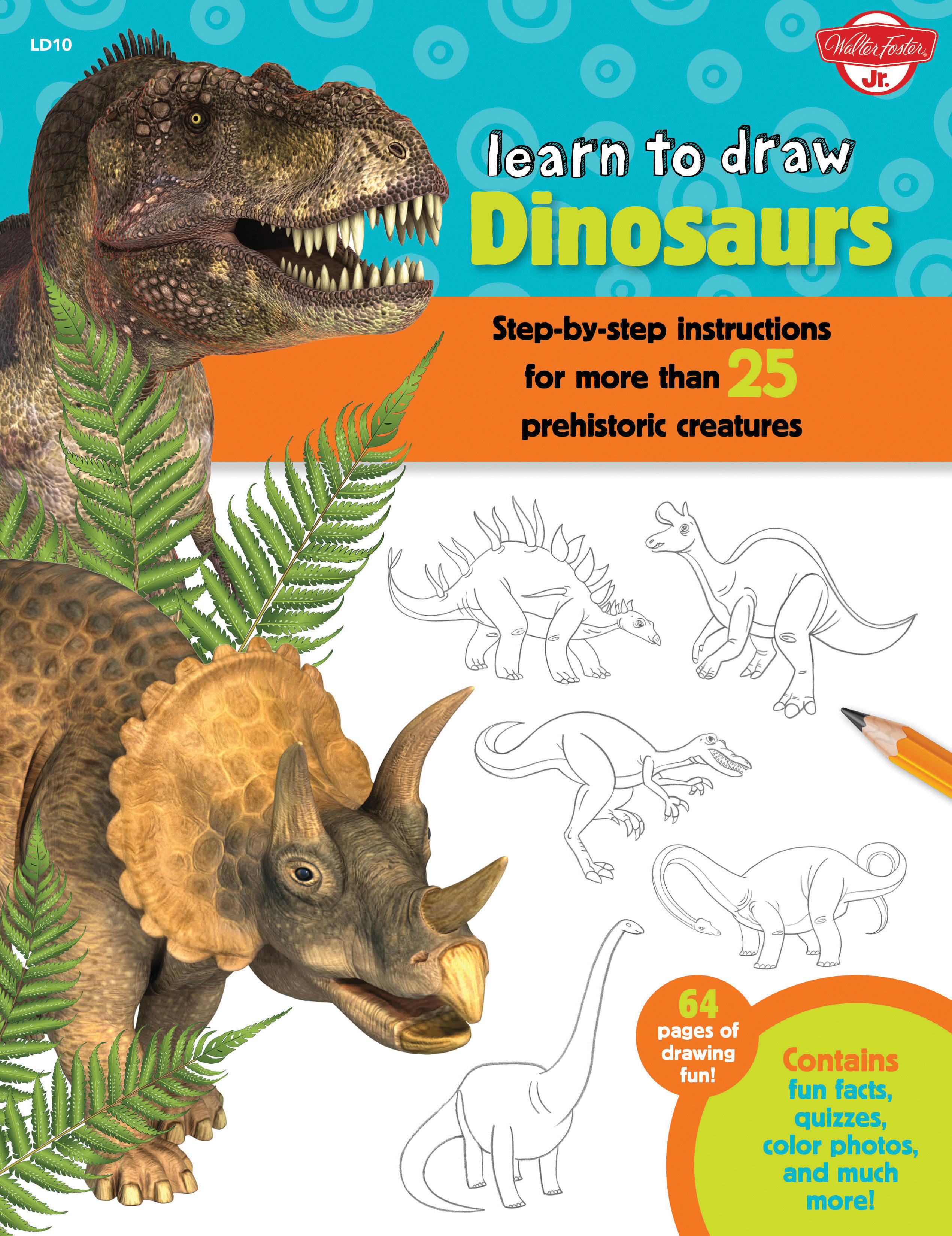 Dinosaurs Learn To Draw Robbin Cuddy 9781633220300