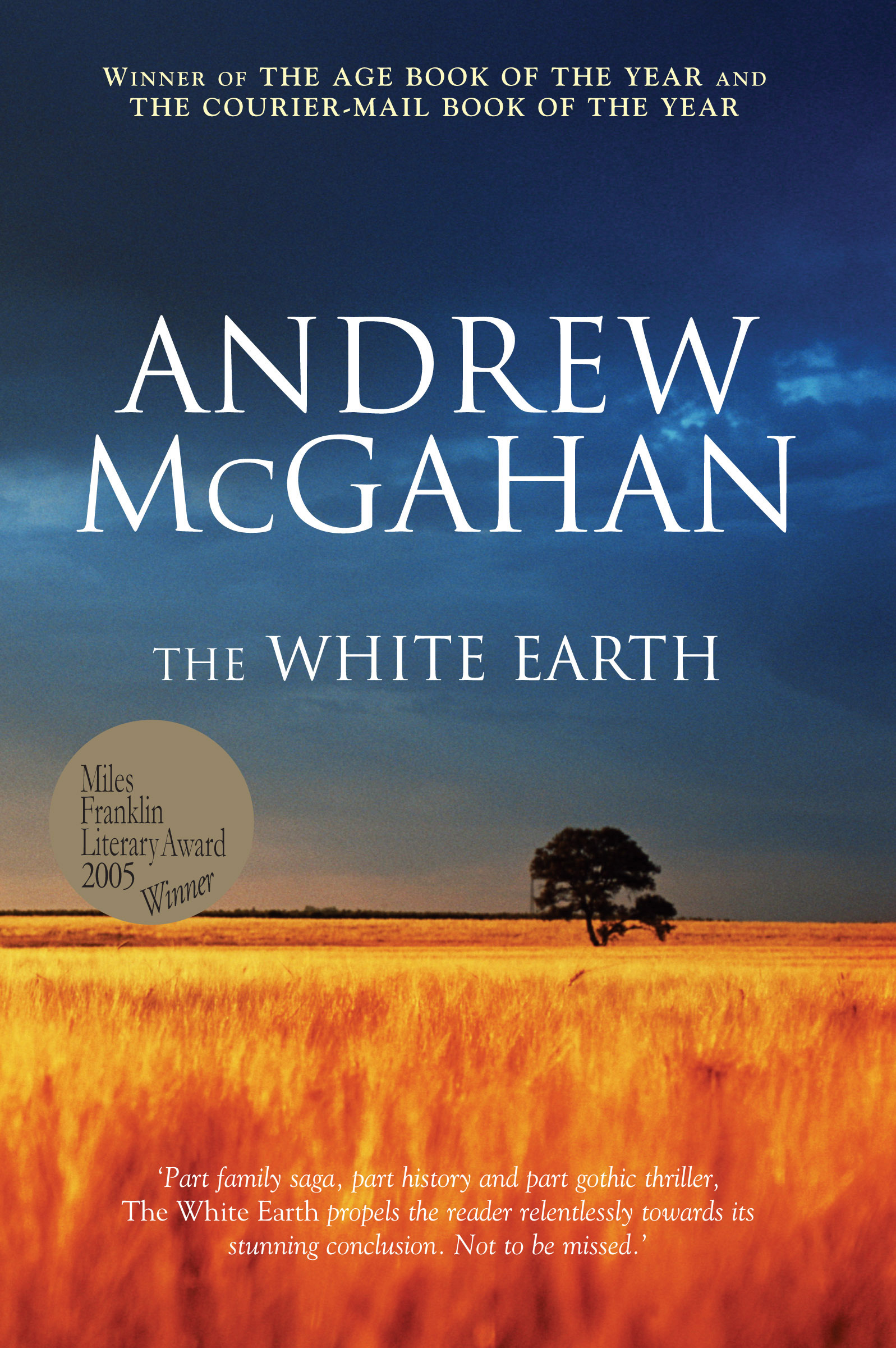 the white earth - andrew mcgahan - 9781741146127