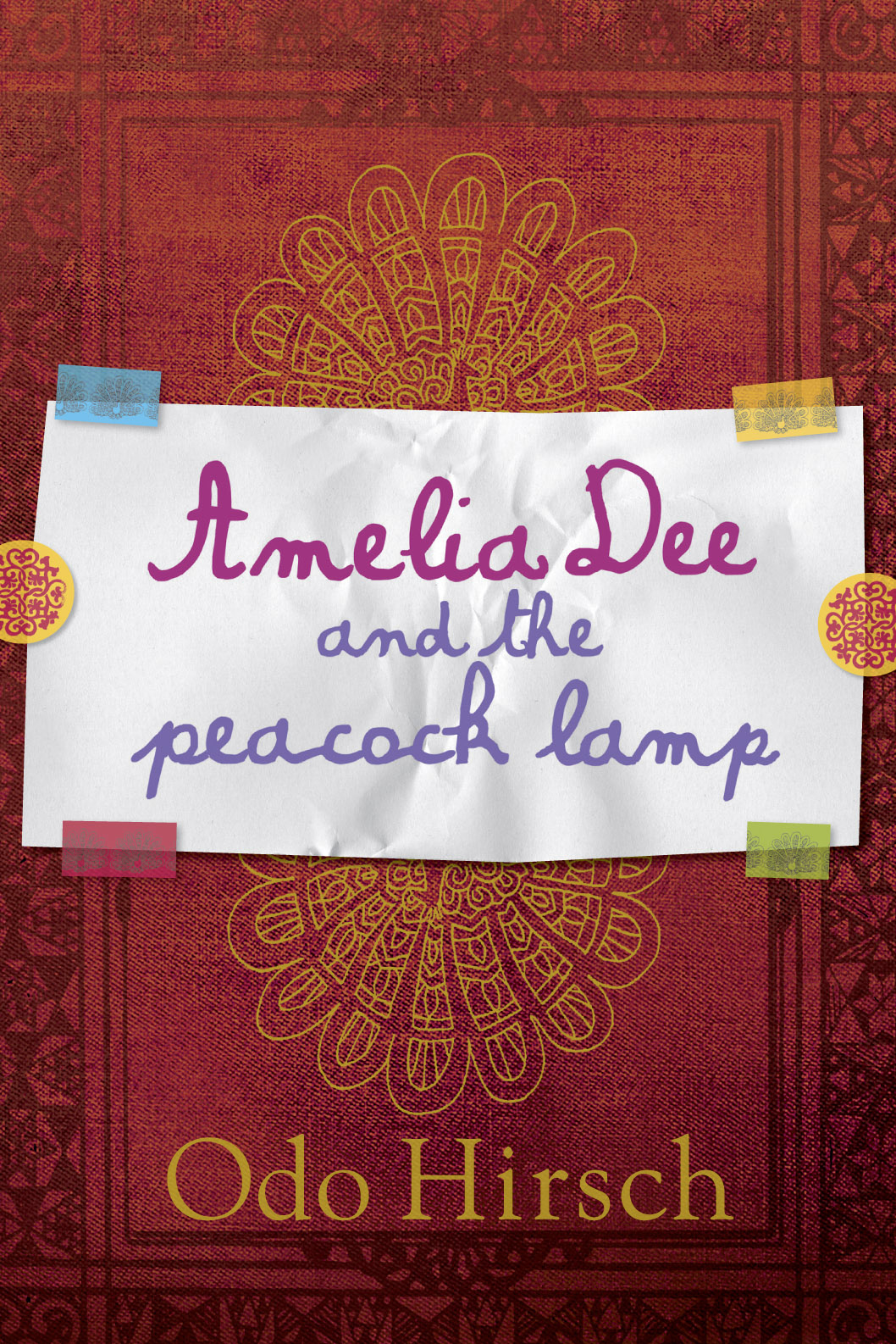 amelia dee and the peacock lamp odo hirsch 9781741753011