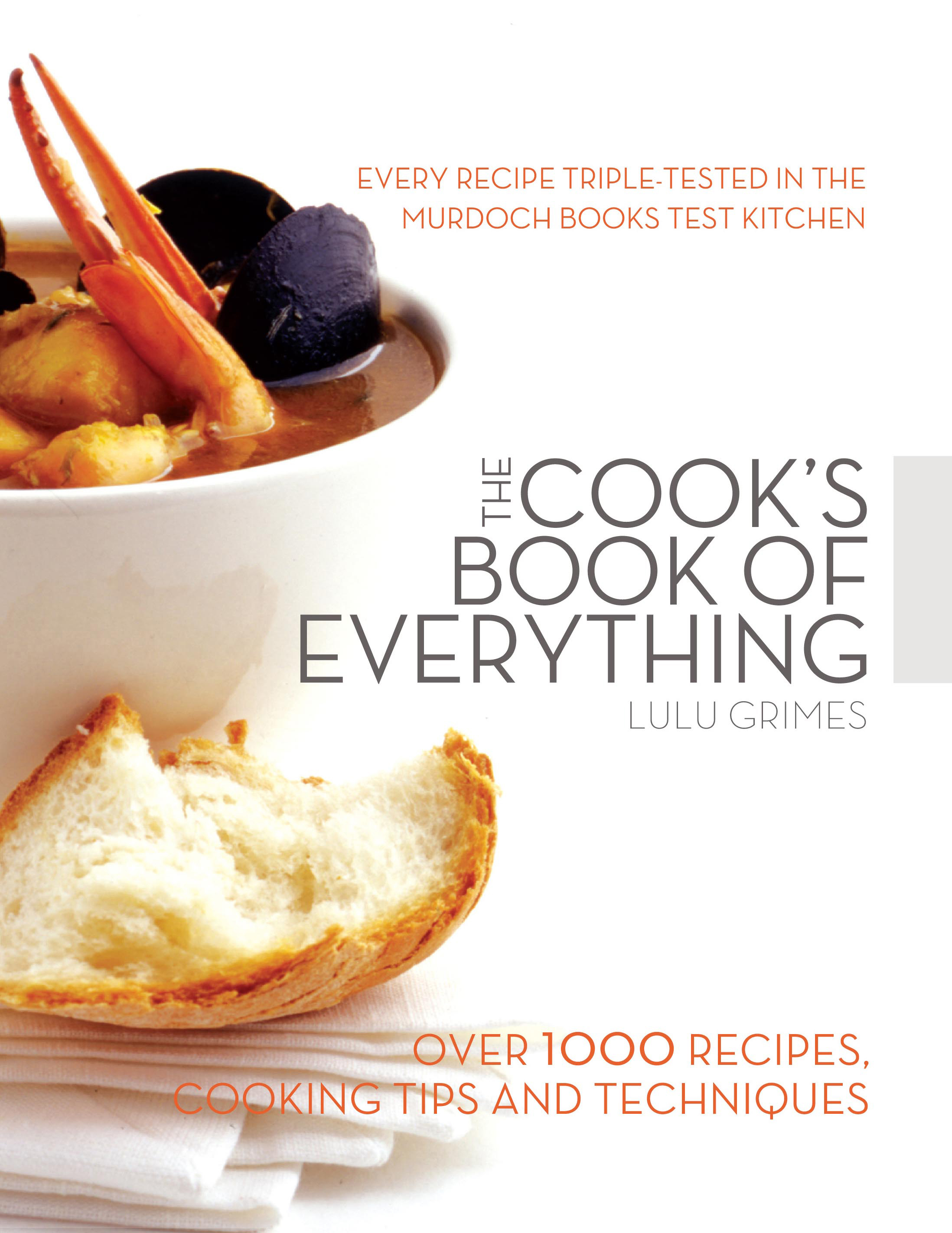 The Cook\'s Book of Everything - Lulu Grimes - 9781741960334 ...