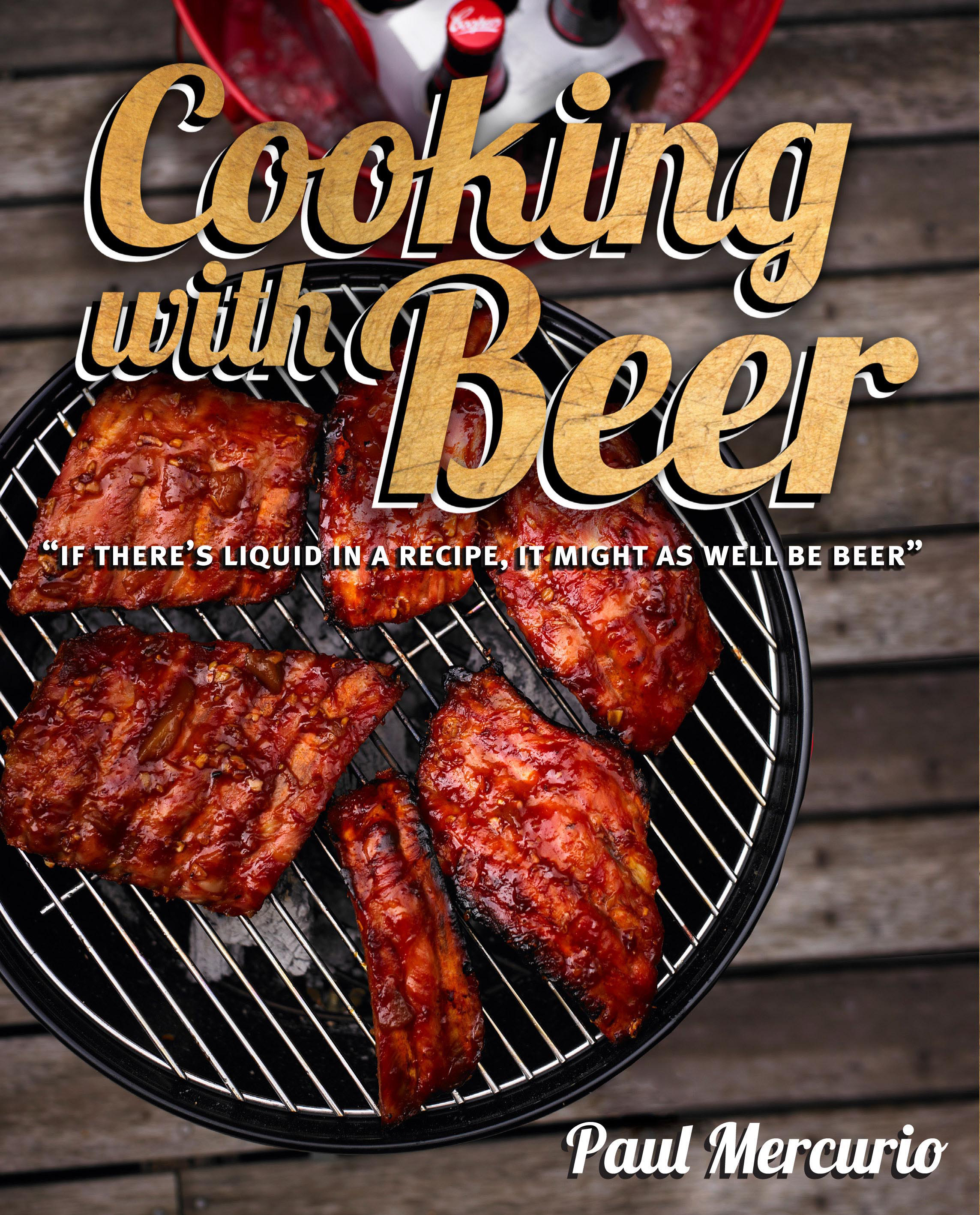 Cooking with beer paul mercurio 9781741968453 murdoch books cooking with beer forumfinder Image collections