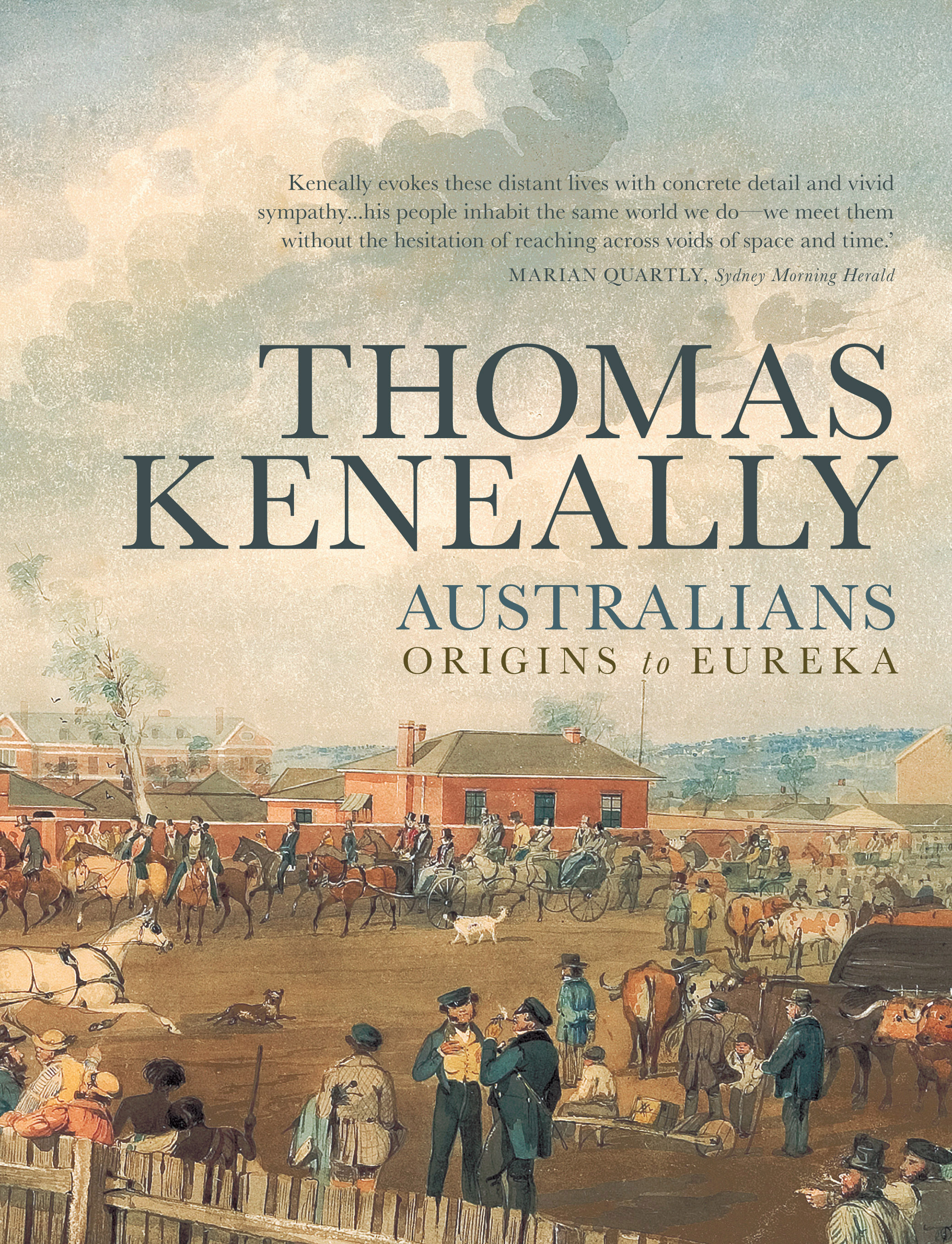 Australians thomas keneally 9781742374505 allen unwin australians fandeluxe Images