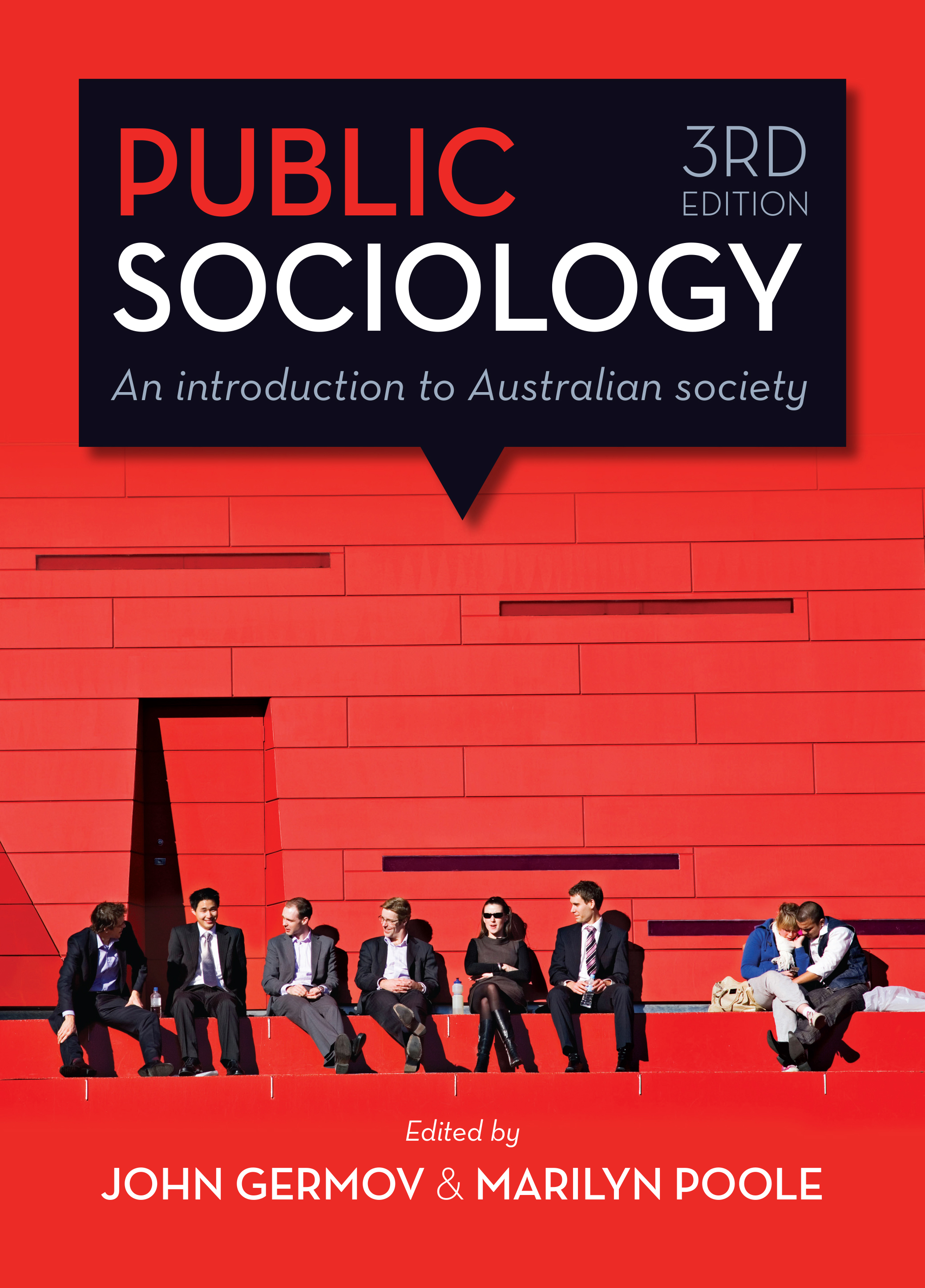 public sociology edited by john germov and marilyn poole cover
