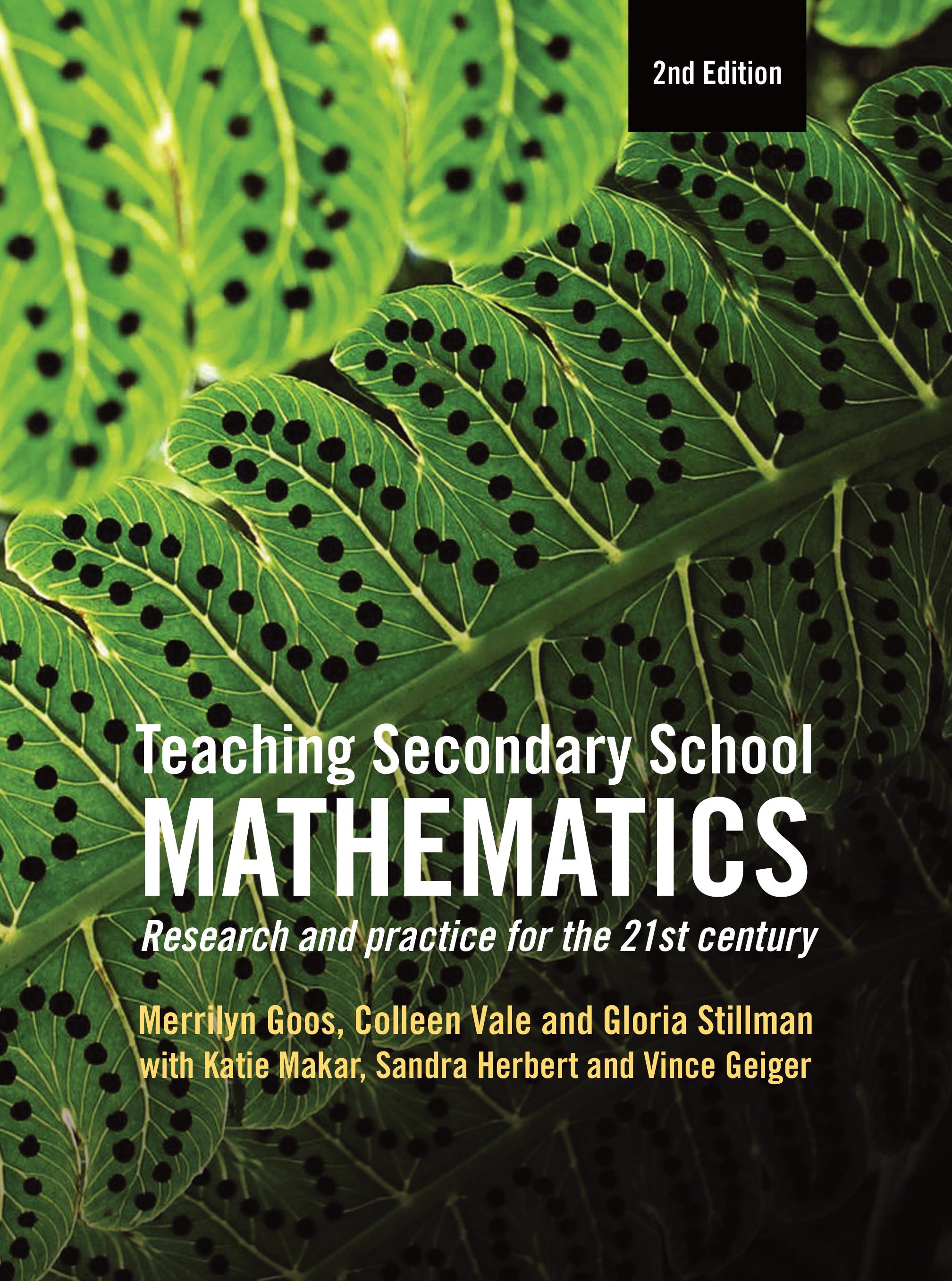 Teaching Secondary School Mathematics - Merrilyn Goos