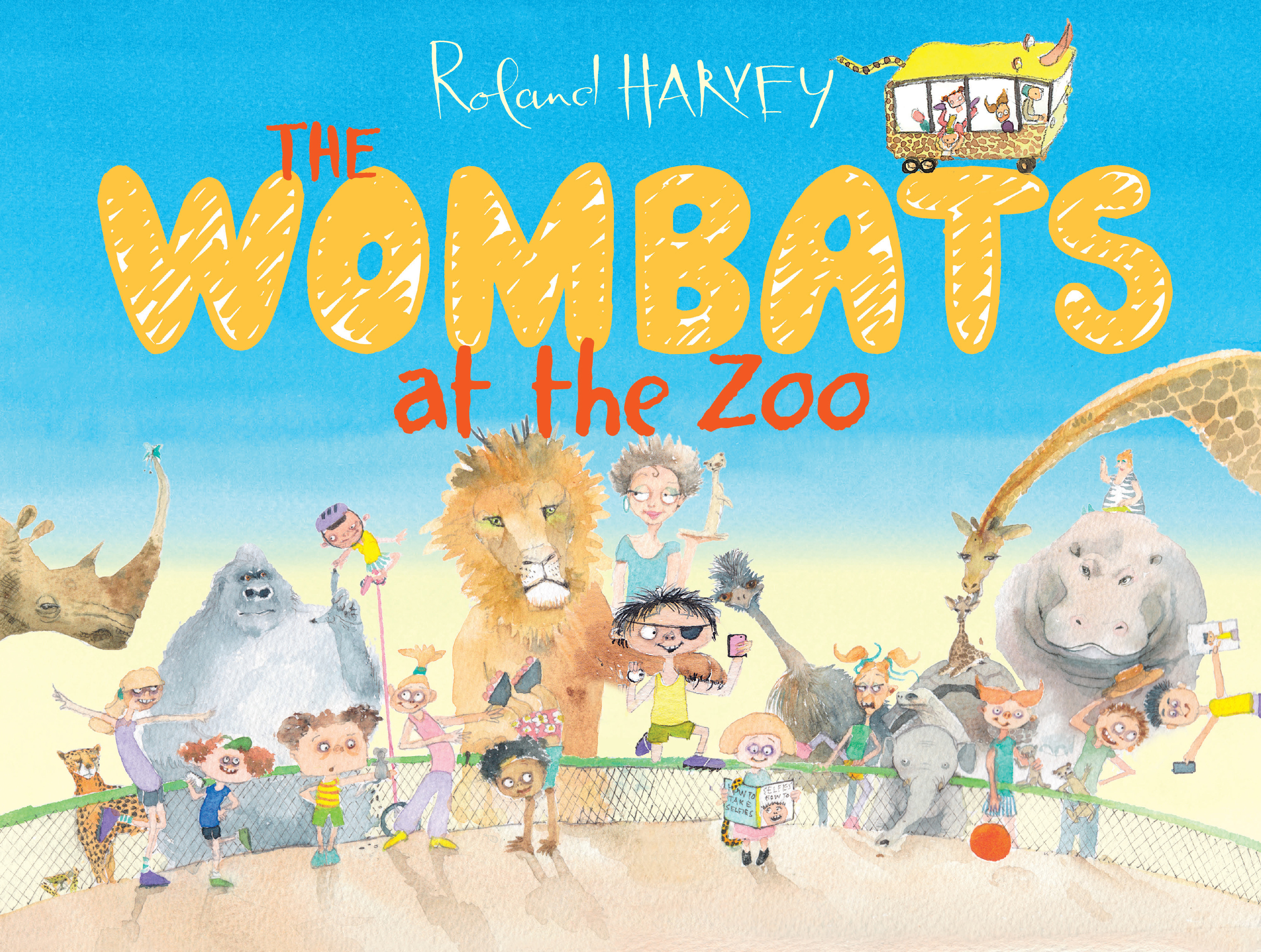 The Wombats at the Zoo - Roland Harvey - 9781743319048 - Allen ...