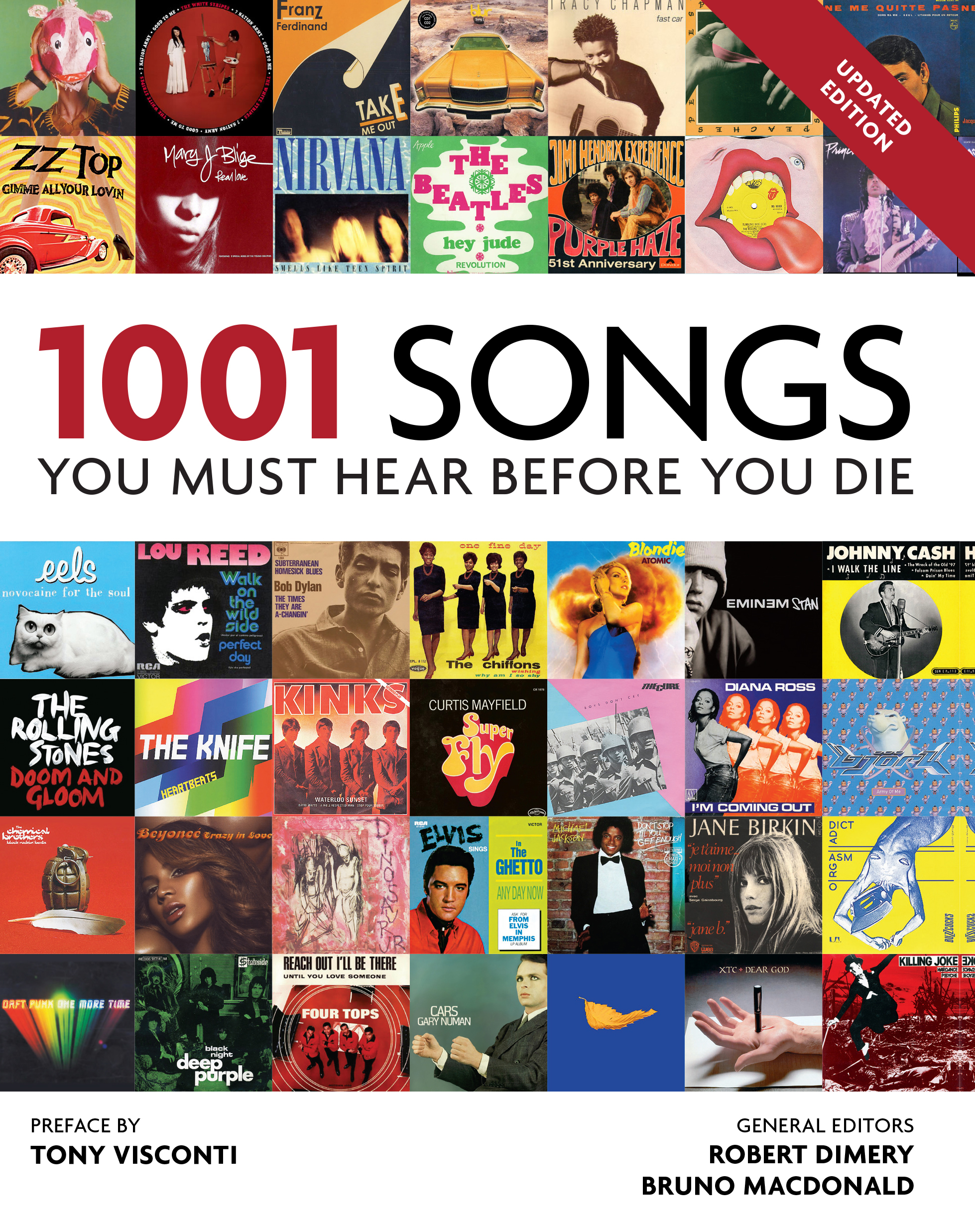 1001 Songs You Must Hear Before You Die - 2015 Edition - How many have you  heard?
