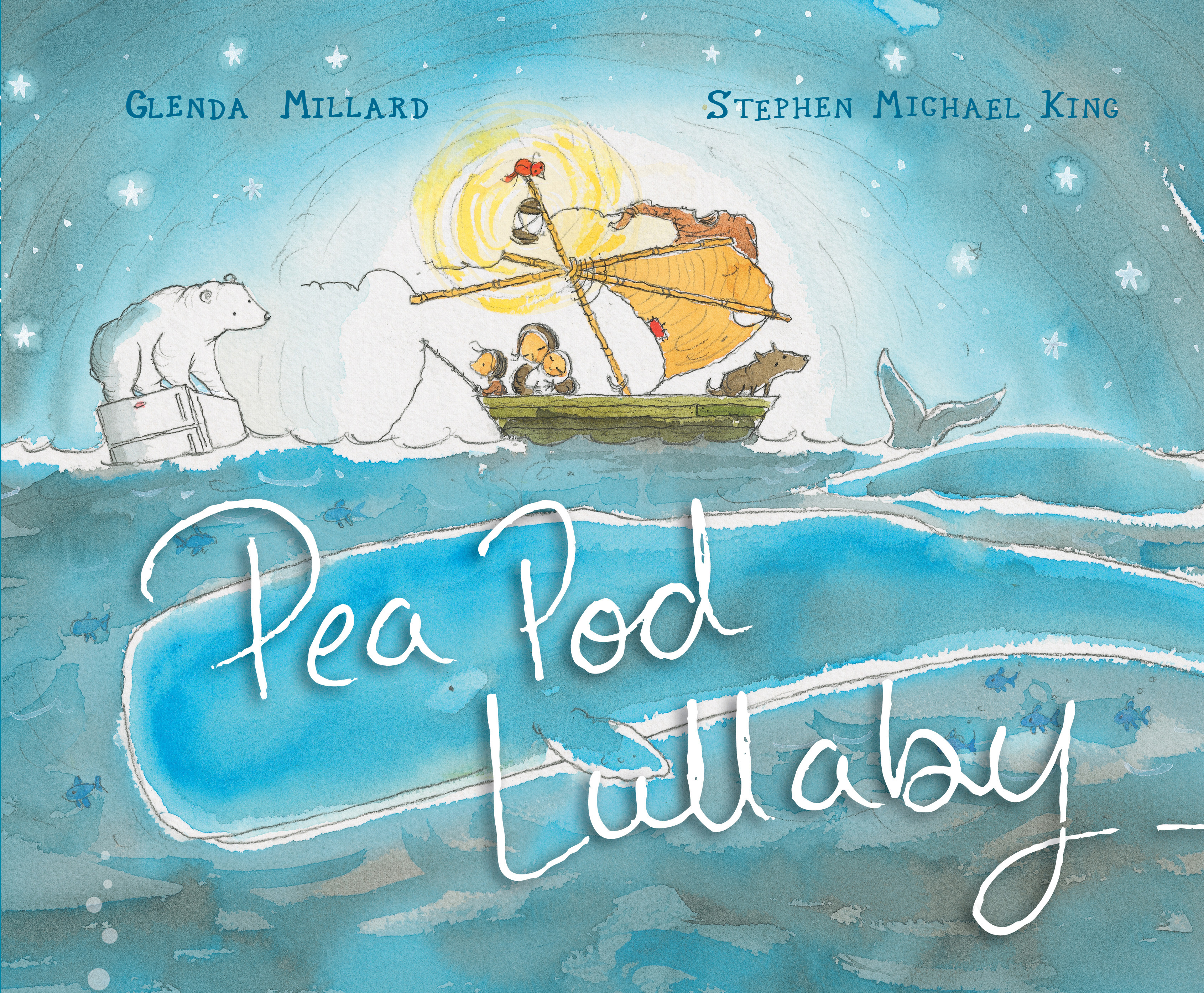 Pea Pod Lullaby Glenda Millard And Stephen Michael King