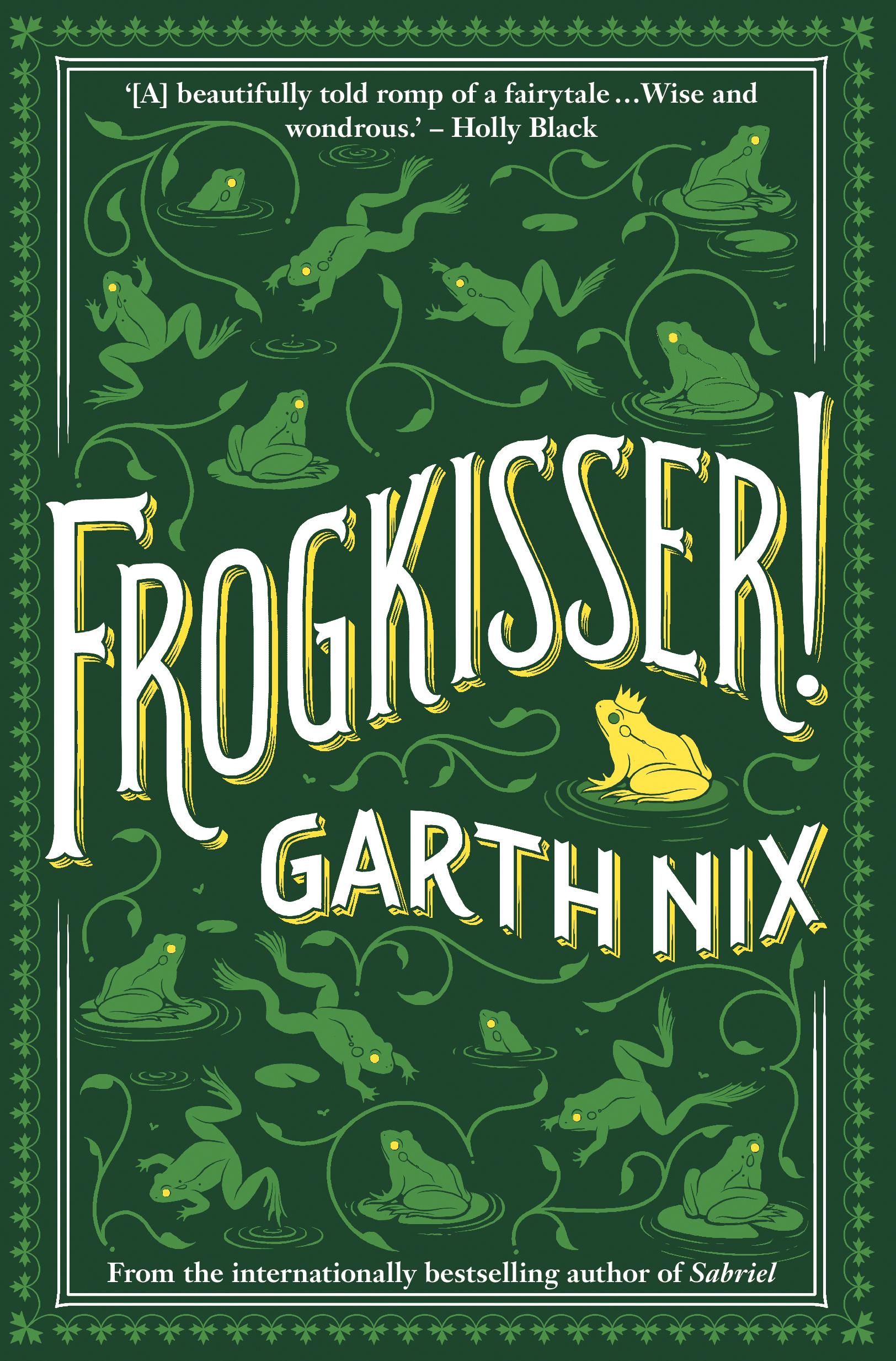 Cookbook With Green Cover : Frogkisser garth nix  allen unwin