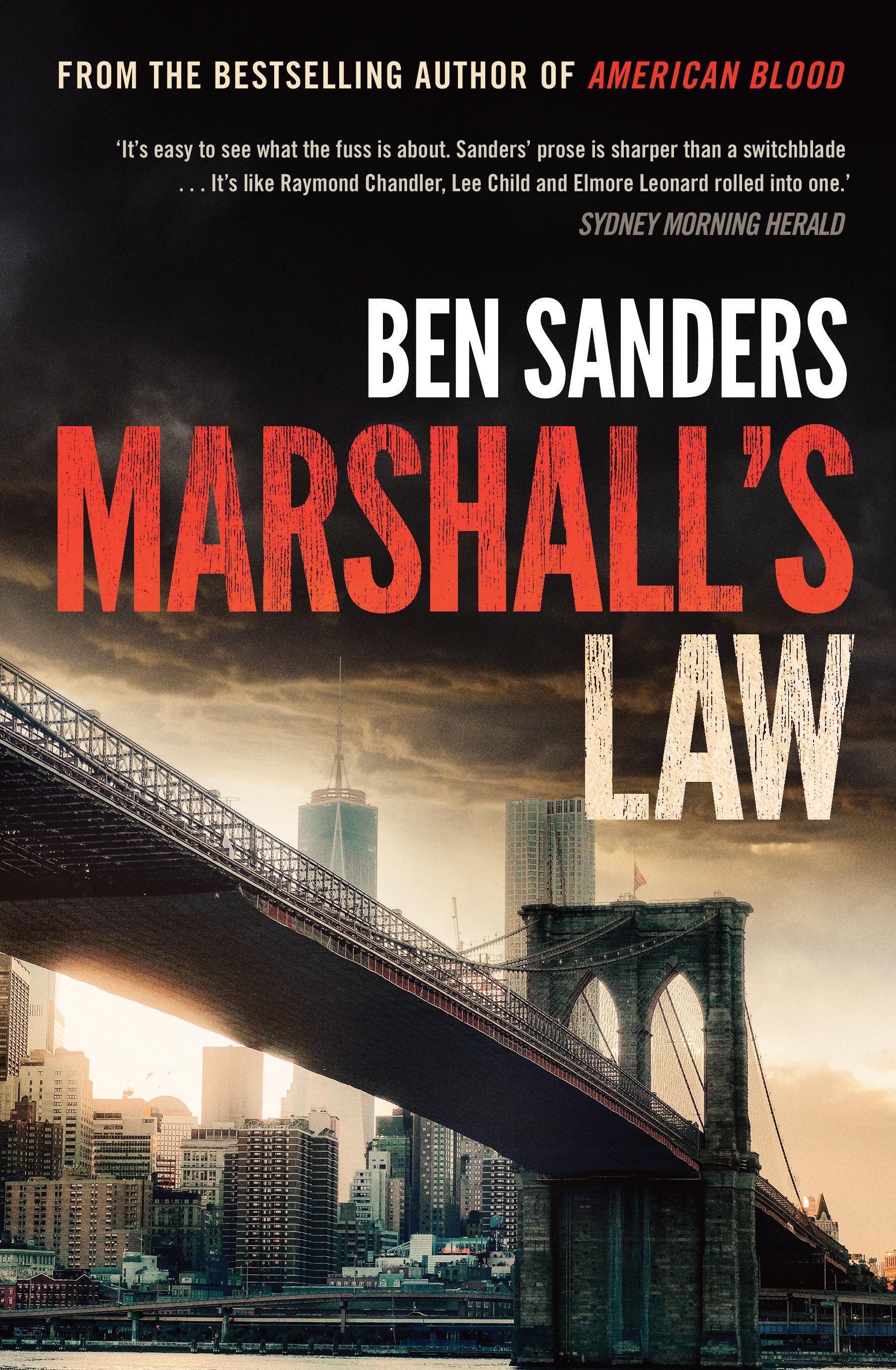 Marshall's Law Ben Sanders