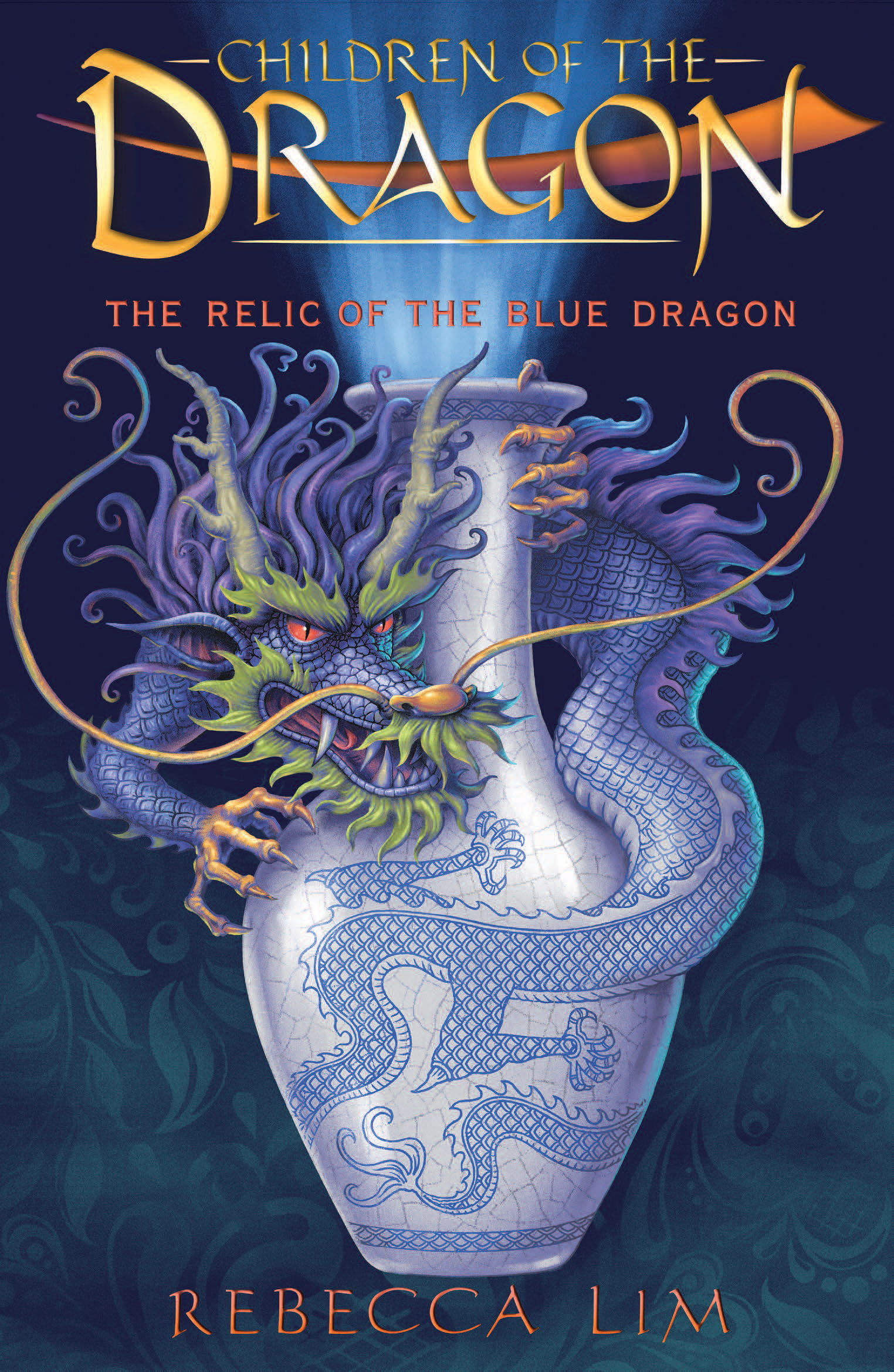the relic of the blue dragon  children of the dragon 1