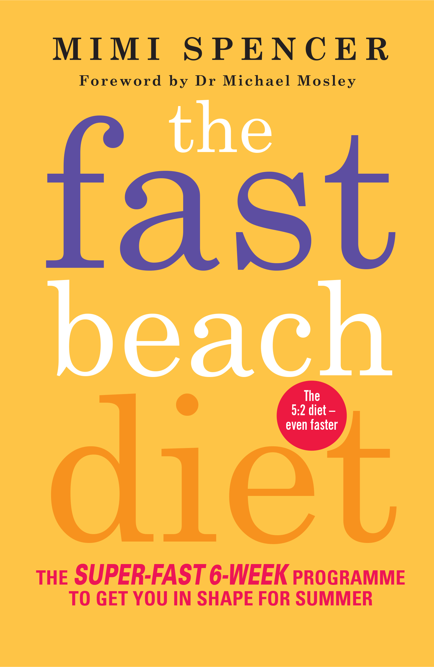 The Fast Beach Diet - Mimi Spencer, foreword by Dr Michael Mosley - 9781780722245 - Allen ...