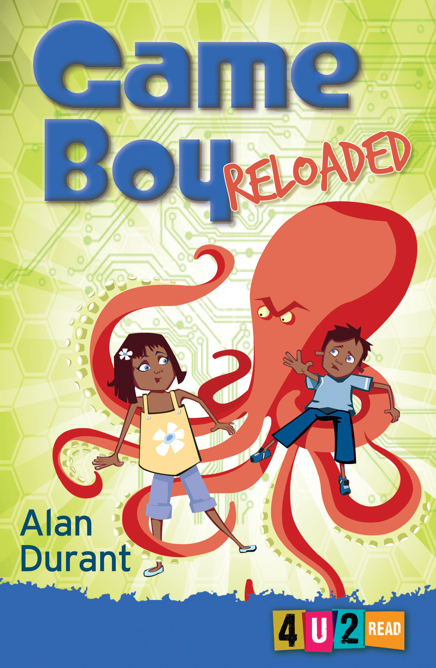 Children S Book Covers Alan Powers ~ Game boy reloaded alan durant illustrated by sue mason