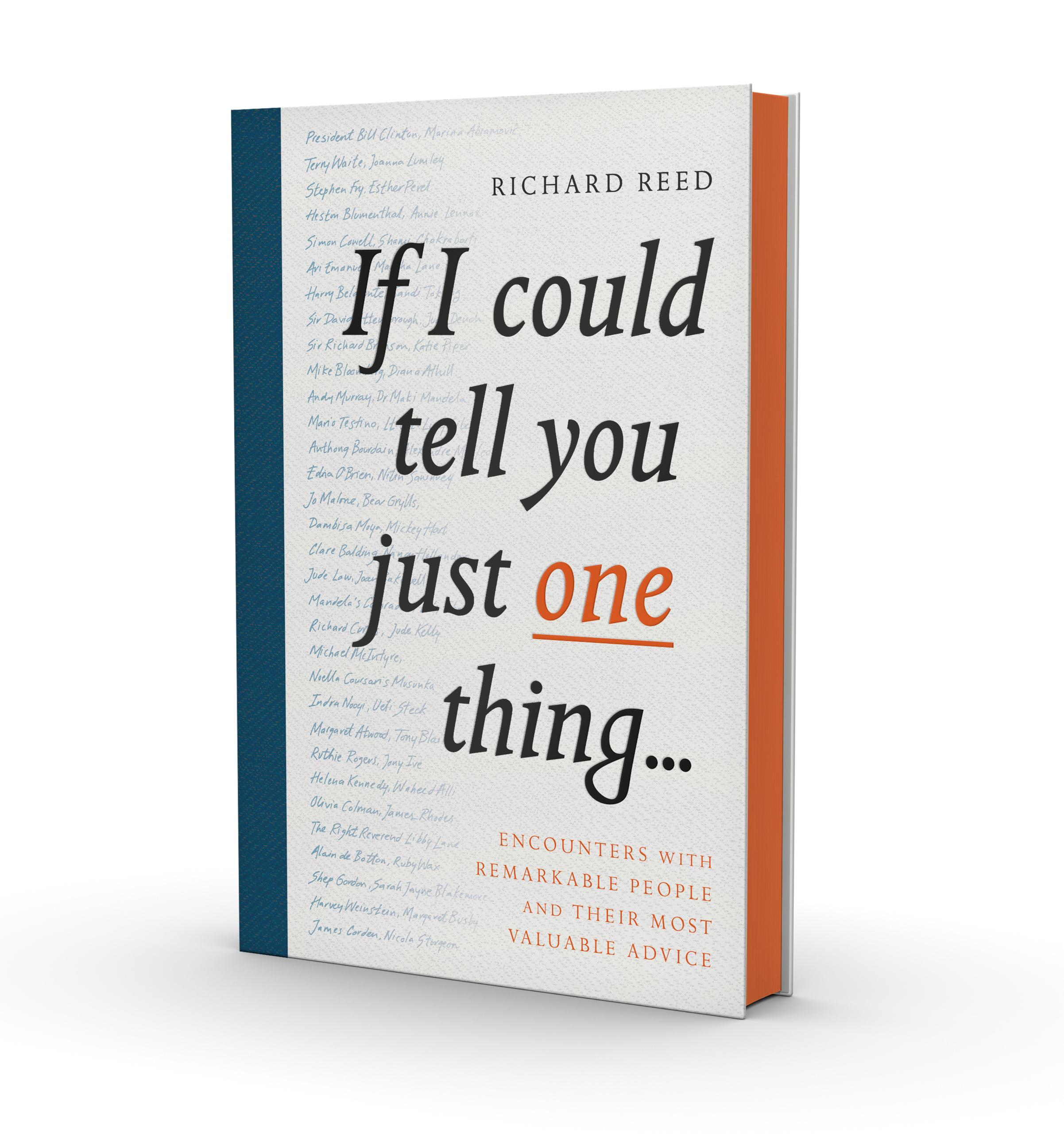 if i could tell you just one thing   richard reed