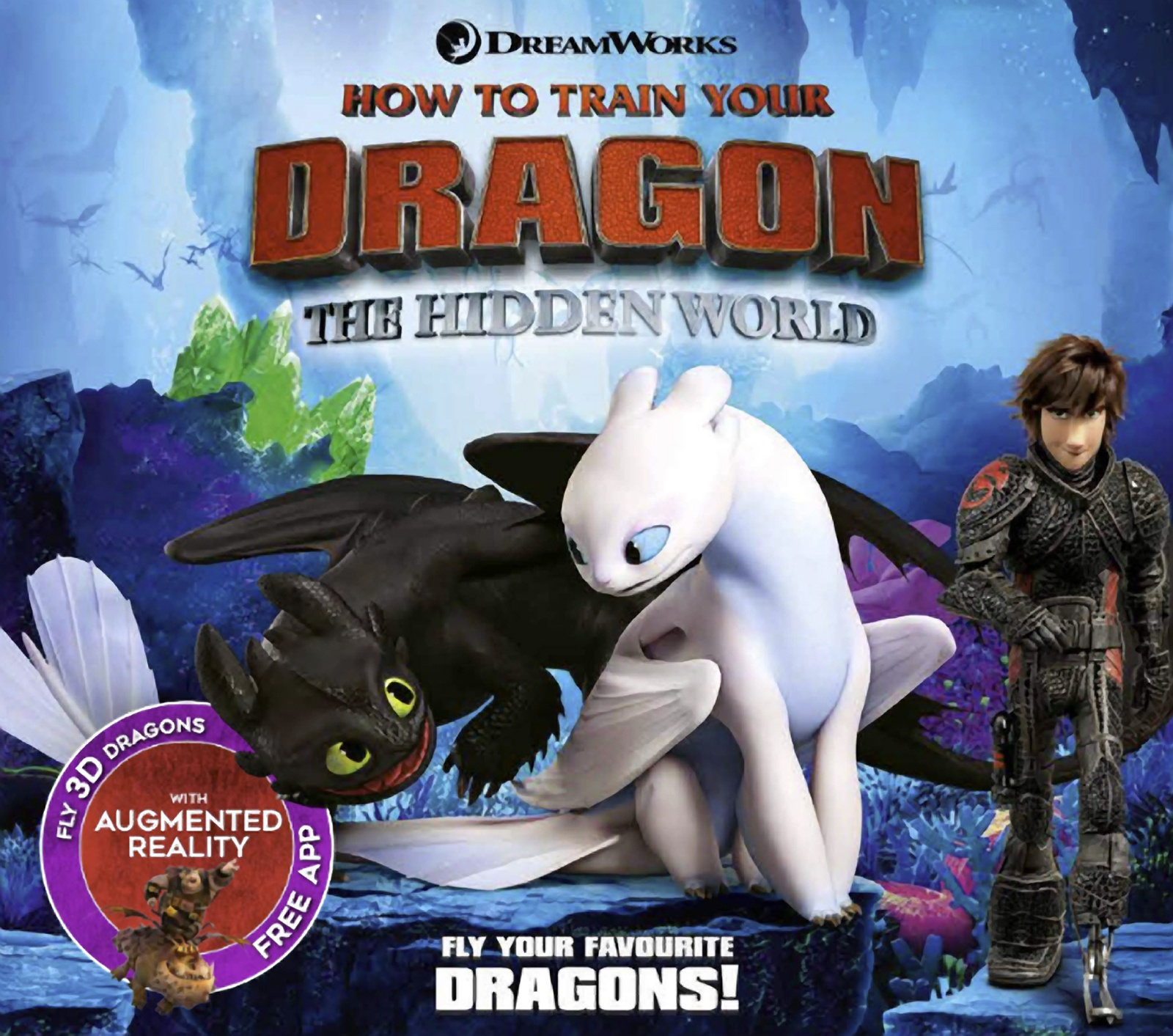 How To Train Your Dragon The Hidden World Augmented Reality Emily Stead 9781783124343 Allen Unwin Australia