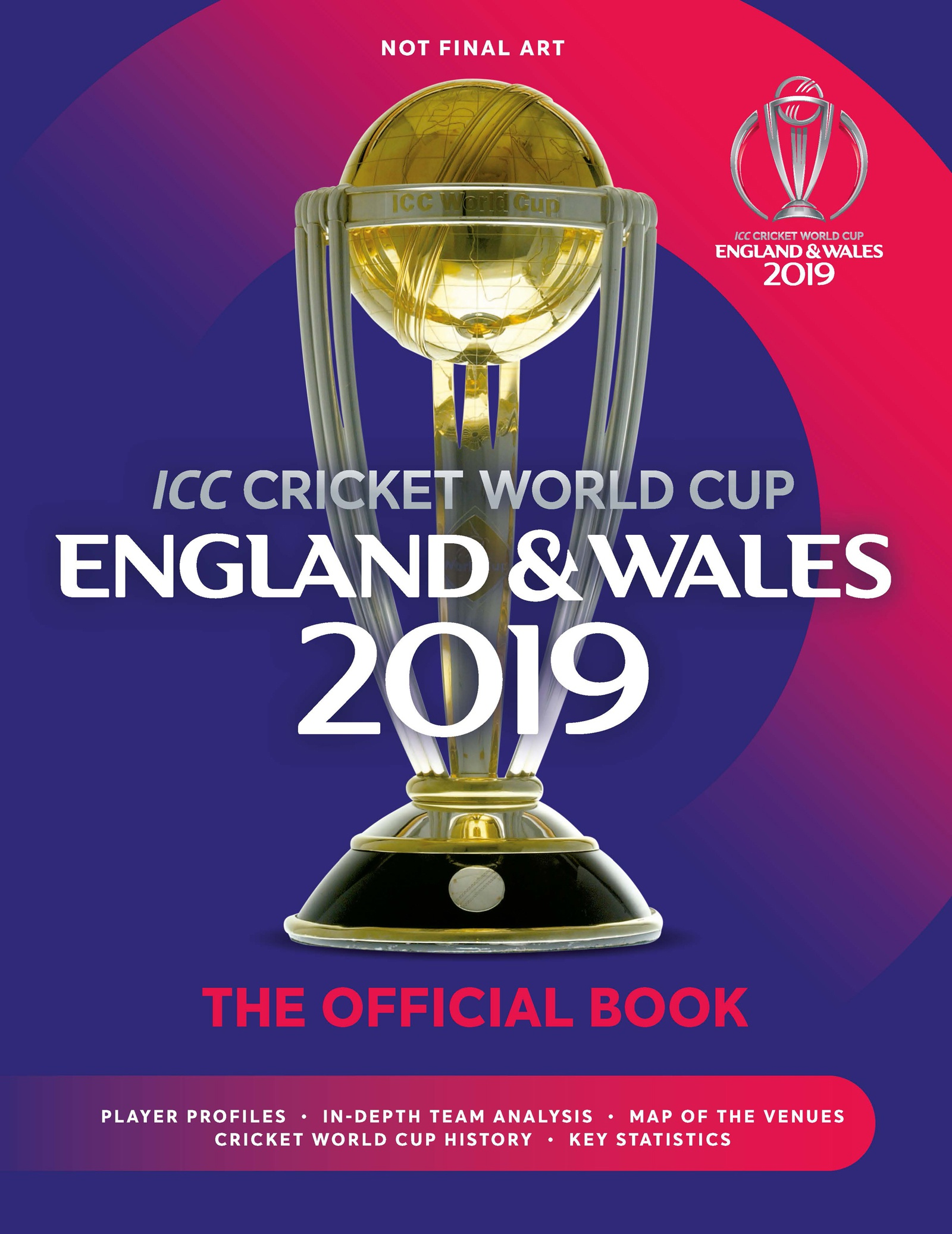 ICC Cricket World Cup England & Wales 2019 - Chris Hawkes - 9781787392199 -  Allen & Unwin - Australia