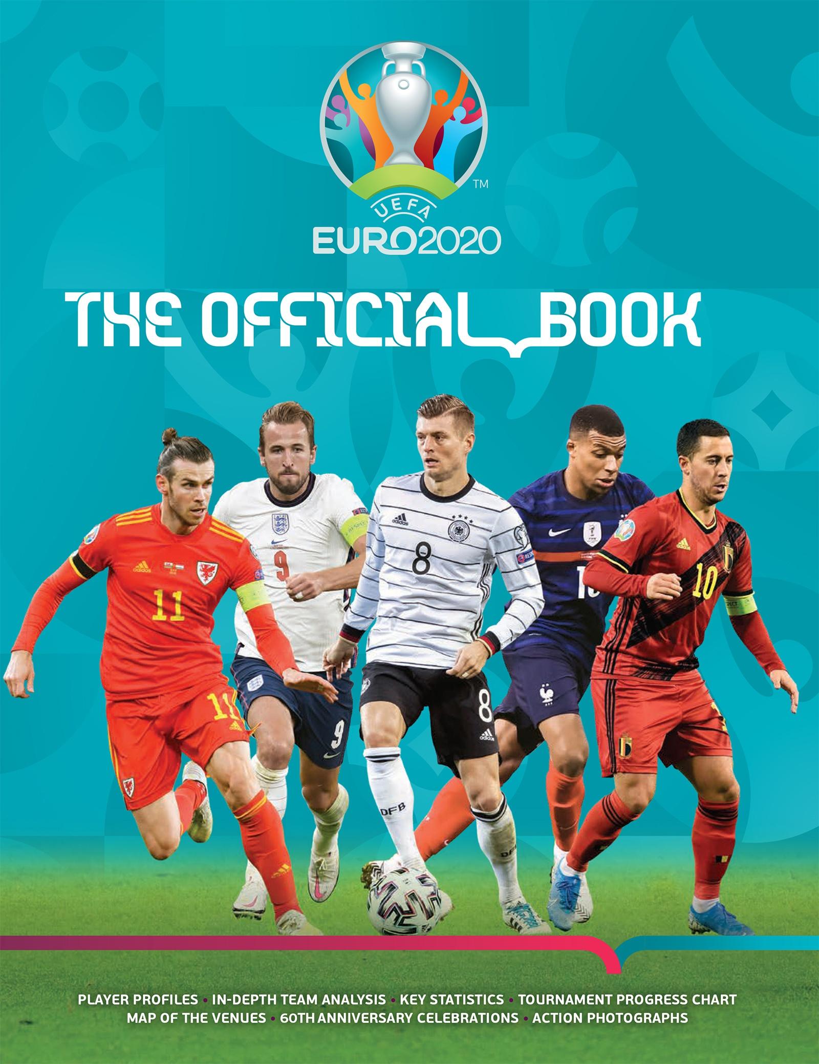 UEFA EURO 2020: The Official Book - Keir Radnedge ...