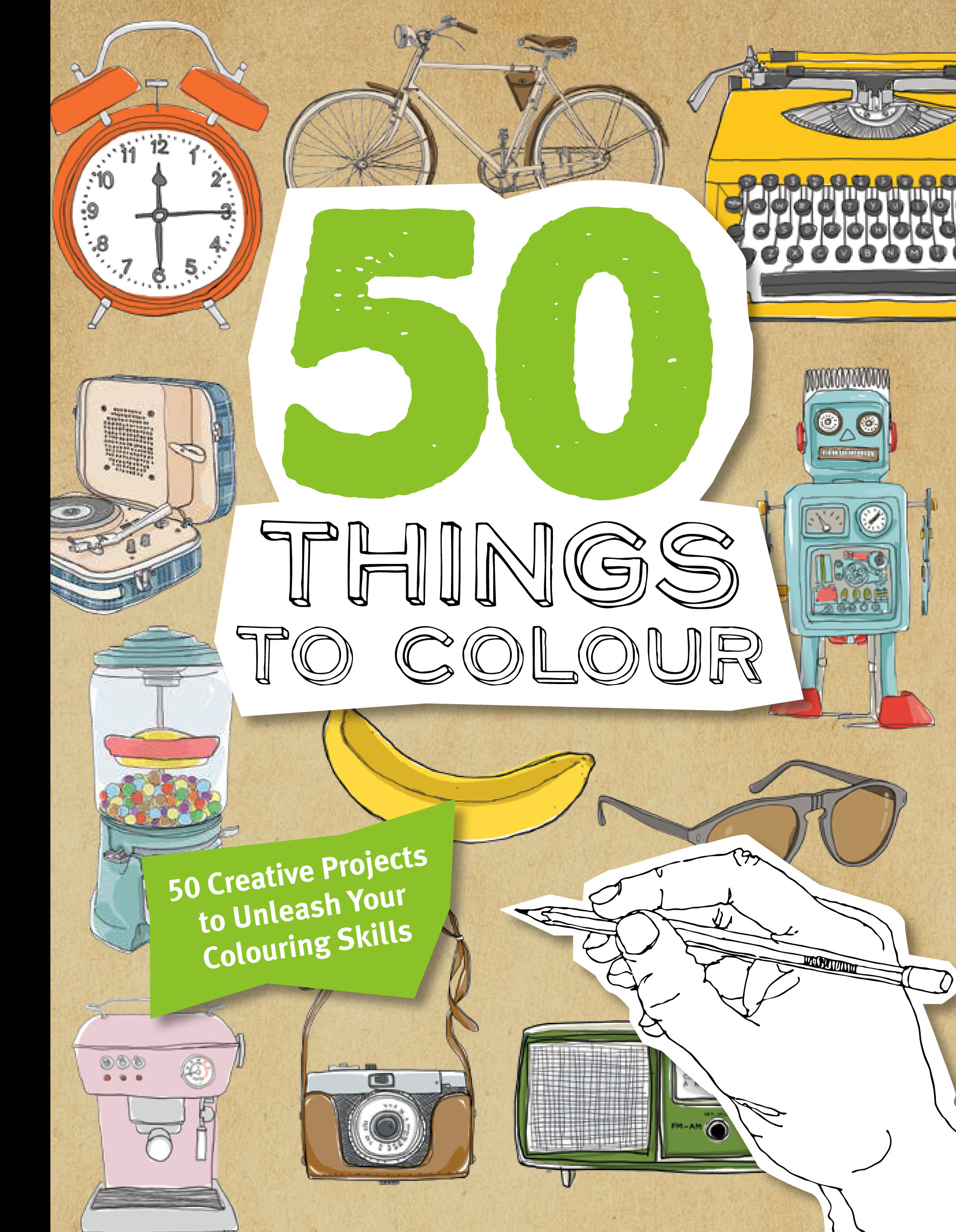 50 Things to Colour - 9781845436117 - Allen & Unwin - Australia