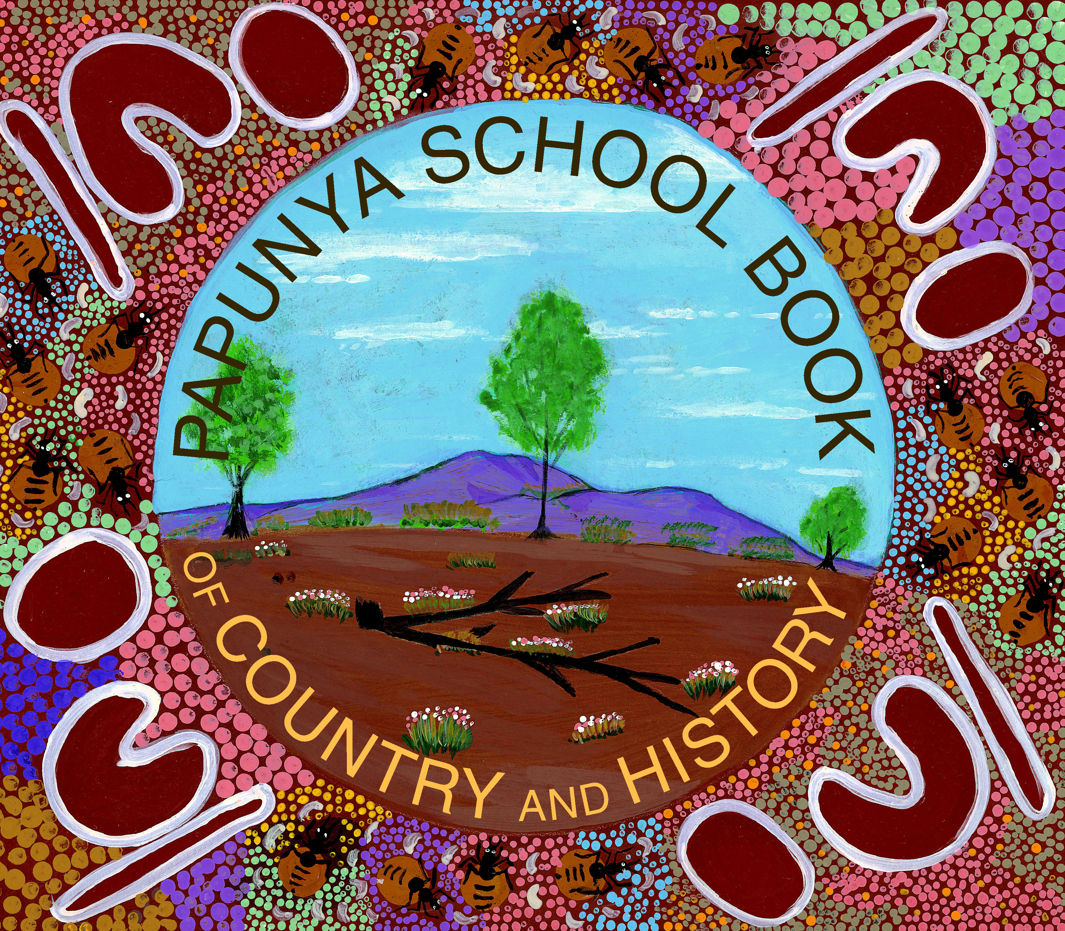 Book Covers For School Australia : Papunya school book of country and history