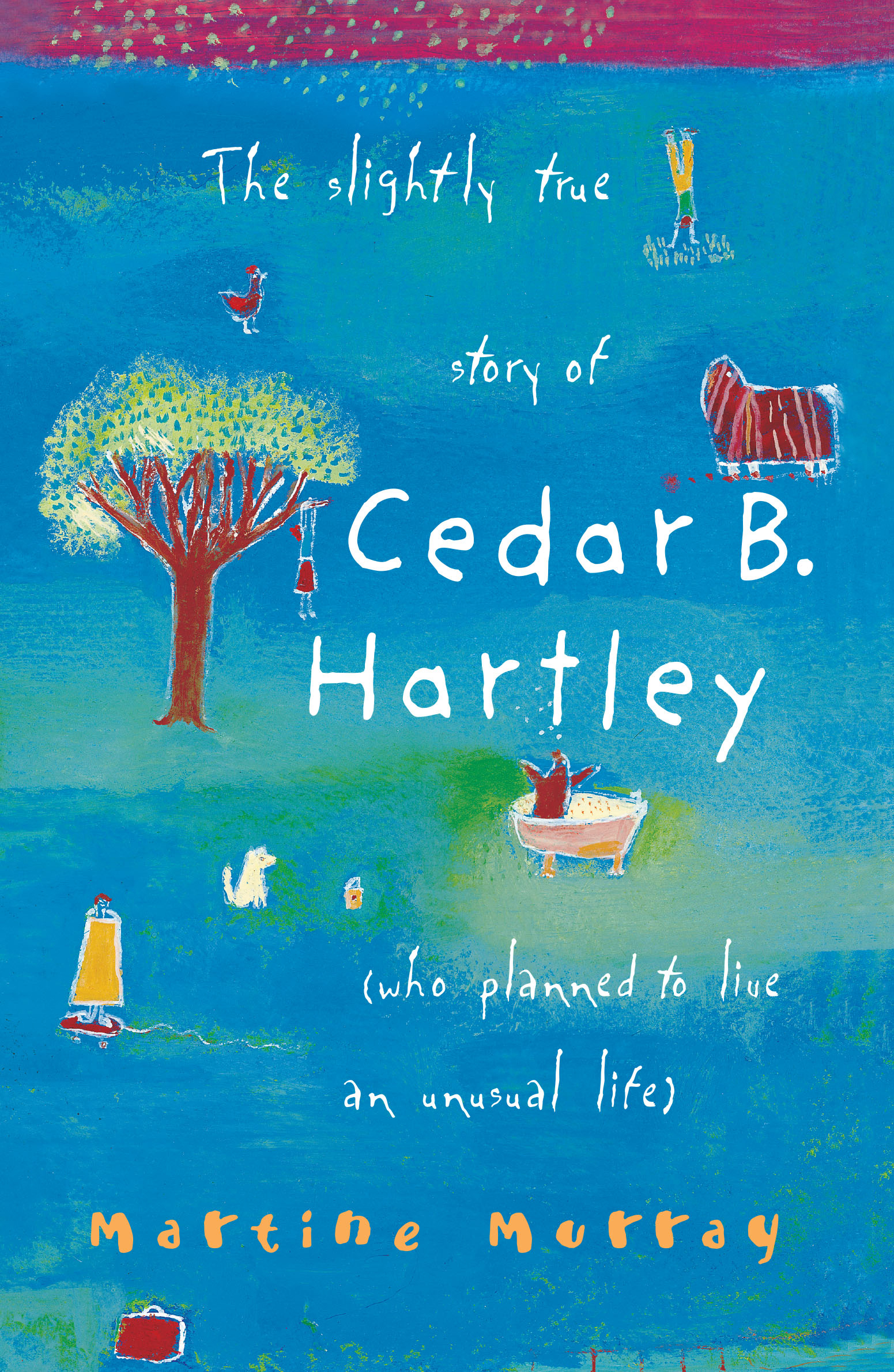 a review of the slightly true story of cedar b hartley by martine murray
