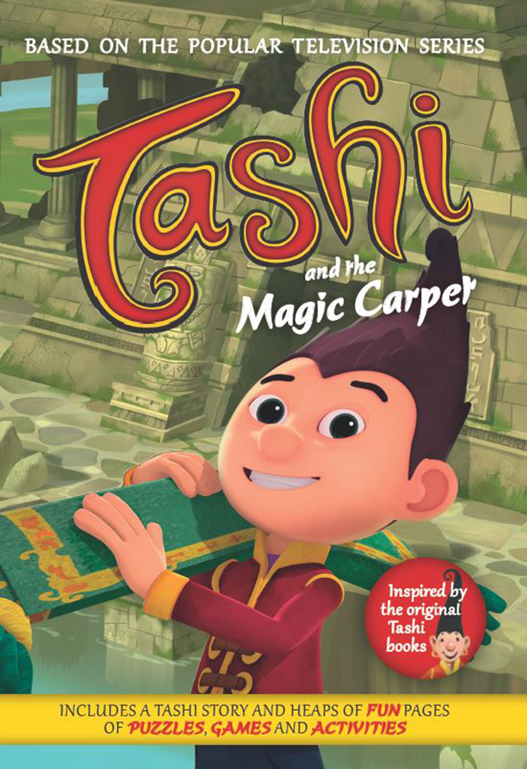 Tashi And The Magic Carpet Anna Fienberg And Barbara Fienberg